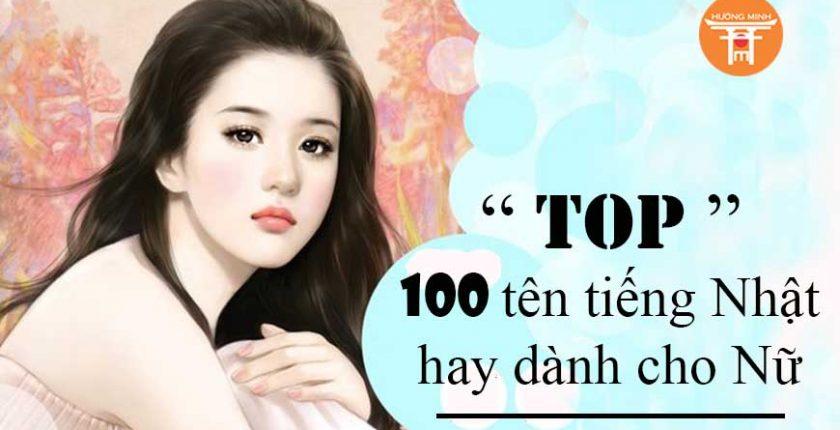 """""""TOP"""" 100 tên tiếng nhật hay dành cho Nữ"""