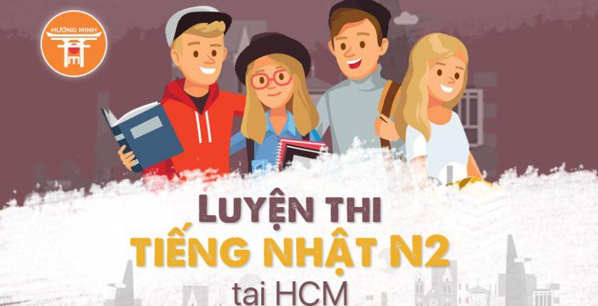Luyện thi tiếng Nhật N2 tại Hồ Chí Minh