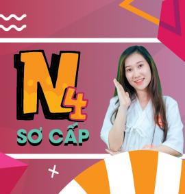 Khóa học tiếng Nhật offline sơ cấp n4