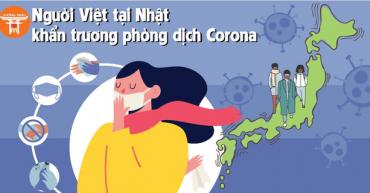 Người Việt tại Nhật Bản khẩn trương phòng chống Virus Corona